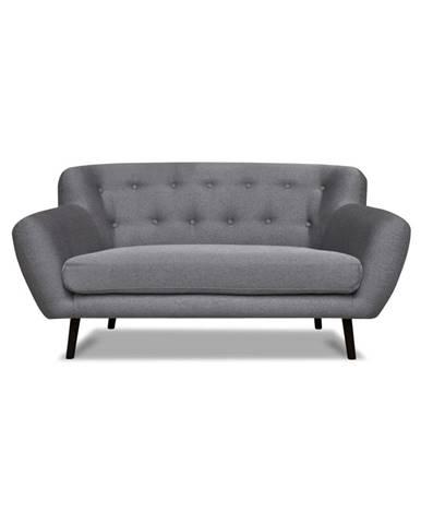Sivá pohovka Cosmopolitan design Hampstead, 162 cm
