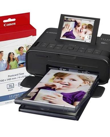 Fototlačiareň Canon Selphy CP1300 + fotopapier KP-36 čierna