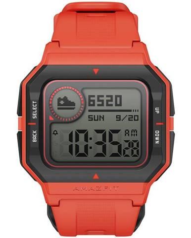 Inteligentné hodinky Amazfit Neo oranžový