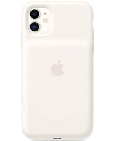 Kryt na mobil Apple Smart Battery Case pre iPhone 11 - biely