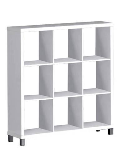 Regál biela TOFI 5 NEW