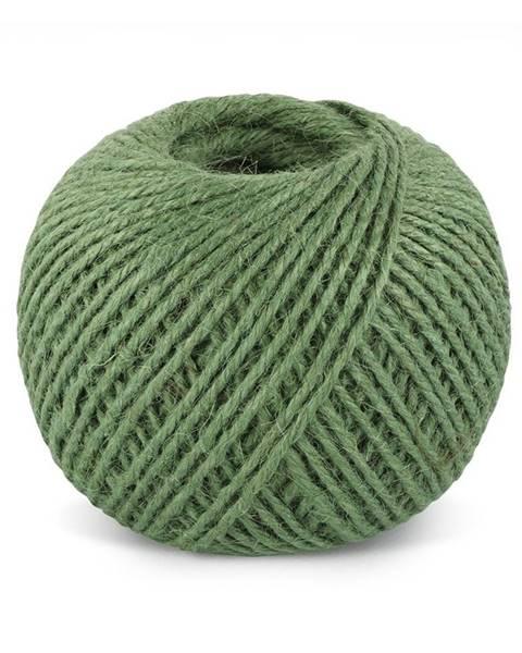 Bellatex Jutový motúz zelený TEX, klbko 200 g