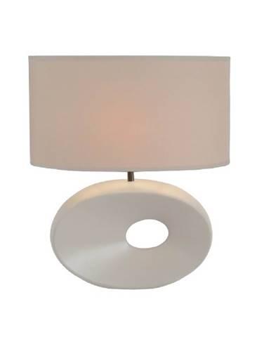 Keramická stolná lampa biela QENNY TYP 9 AT09115 poškodený otvar