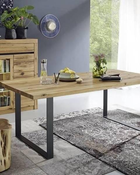 Bighome.sk VEVEY Jeálenský stôl 160x90, prírodná, dub