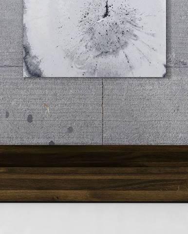 SKANE Úložný priestor pod posteľ 150x68 cm, dub, tmavohnedá