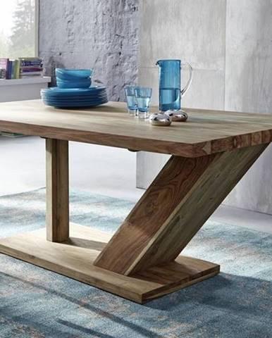 NATURAL Jedálenský stôl 220x100 cm, palisander