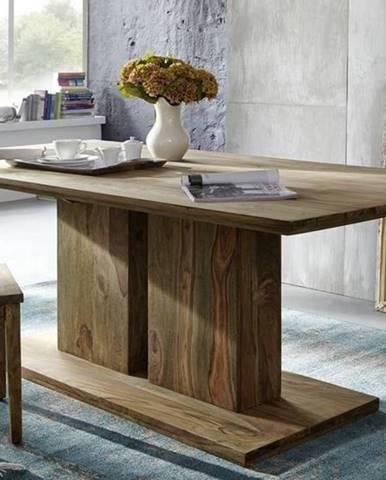 NATURAL Jedálenský stôl Simple 160x90 cm, palisander