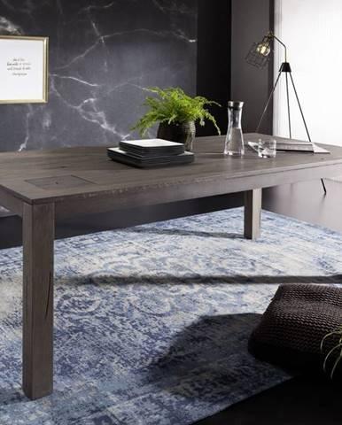 TAMPERE Jedálenský stôl 200x100 cm, dub, dymová