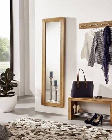 VIENNA Zrkadlo 175x50 cm, dub