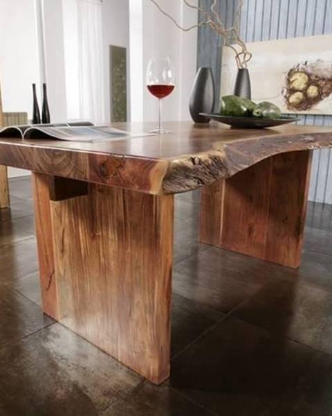 Bighome.sk METALL Jedálenský stôl 270x110 cm, akácia