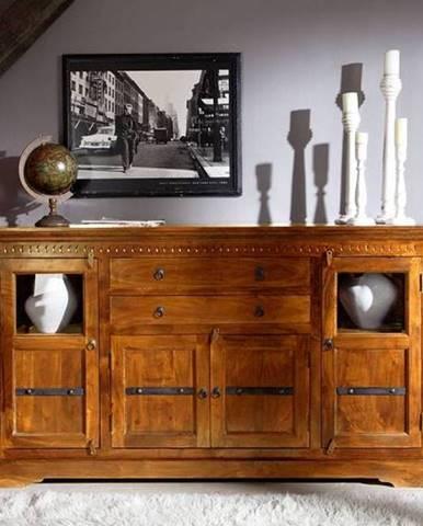 CAMBRIDGE HONEY Komoda 181x50 cm, akácia