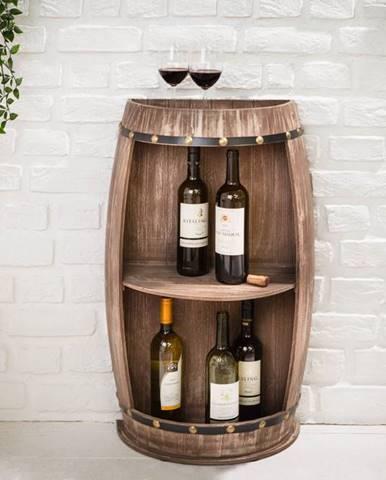 Regál na víno CASK 79 cm