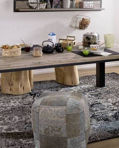 TIROL Jedálenský stôl 160x90 cm, svetlohnedá, dub