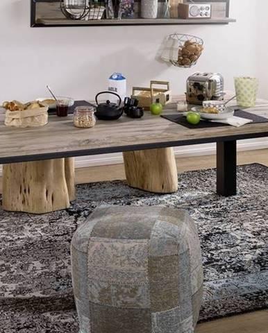 TIROL Jedálenský stôl 260x100 cm, svetlohnedá, dub