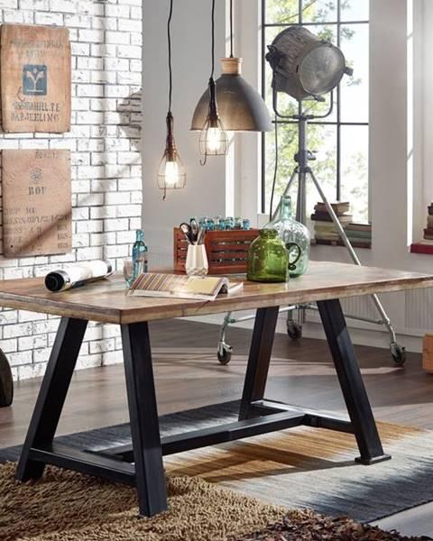 Bighome.sk INDUSTRY Jedálenský stôl 260x100 cm, staré drevo