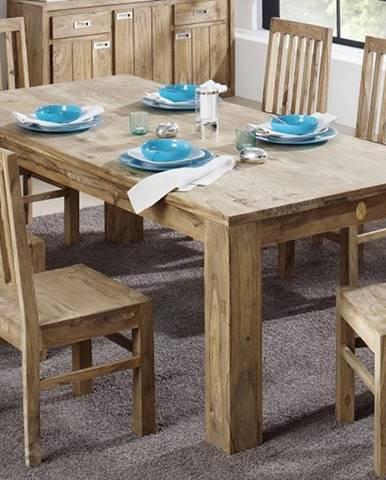 LIGHT WOOD Jedálenský stôl 260x100 cm, palisander