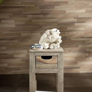 GREY WOOD Príručný stolík 29x29x50 cm, palisander