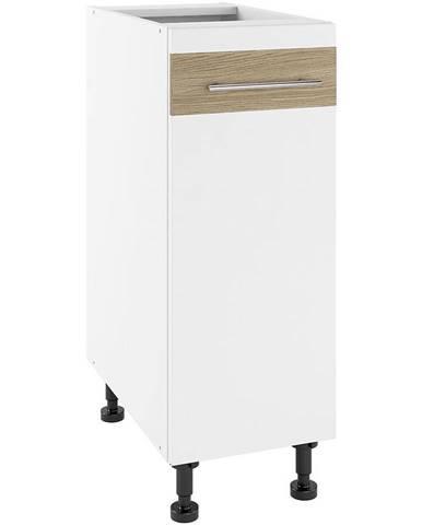 Kuchynská skrinka Luna Lignum Bianco Super Mat PO 30