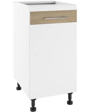Kuchynská skrinka Luna Lignum Bianco Super Mat PO 40