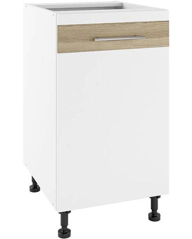 Kuchynská skrinka Luna Lignum Bianco Super Mat PO 45