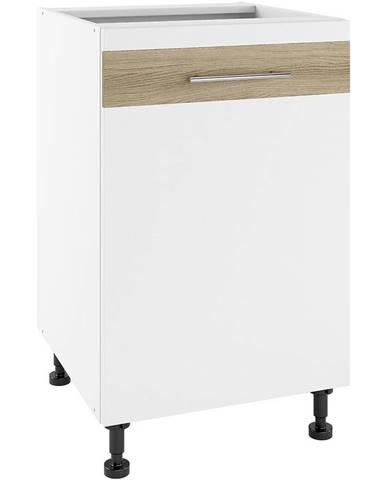 Kuchynská skrinka Luna Lignum Bianco Super Mat PO 50