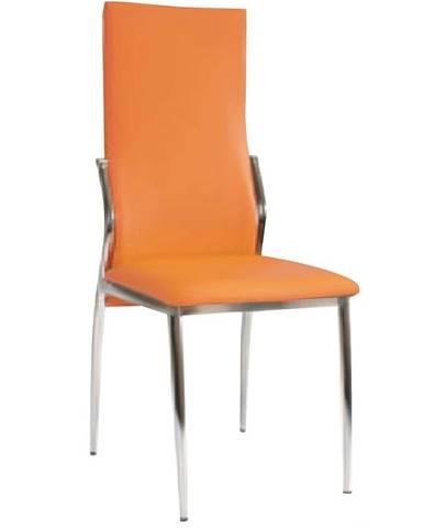 Stolička Sawanna oranžová