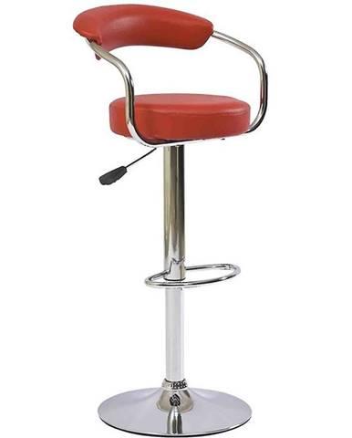 Barová stolička Strong červená 7121