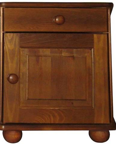 Nočný stolík dub filunek