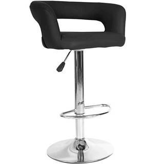 Barová stolička Jupiter čierna 7166