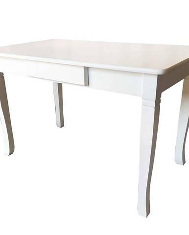 Jedálenský stôl  Mars biely 120 x 70