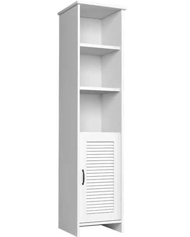 Vysoká skrinka Orient W1D biela