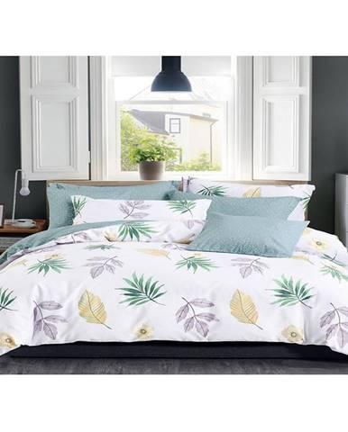 Bavlnená saténová posteľná bielizeň albs-01028b/2 140x200 lasher