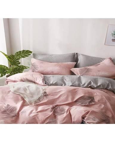 Bavlnená saténová posteľná bielizeň albs-01030b/2 140x200 lasher
