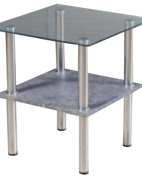 MERKURY MARKET Konferenčný stolik TT-1661 cement