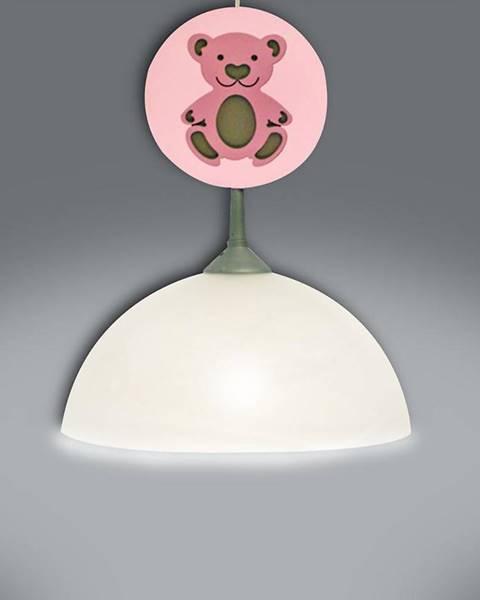 MERKURY MARKET Lampa medveď ružová L1K-012 LW1