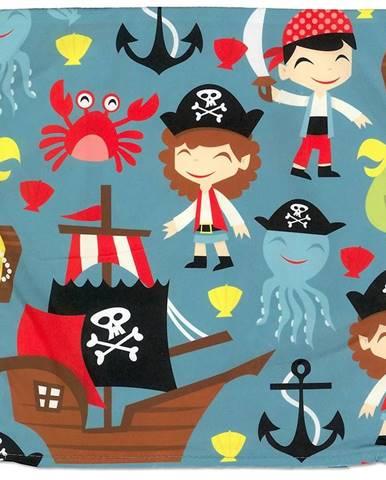Obliečka na vankúš 40x40 pirát 0403-001-75 zelená