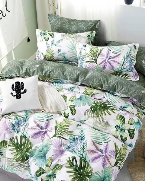 MERKURY MARKET Bavlnená saténová posteľná bielizeň ALBS-01102B