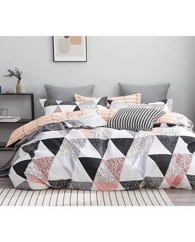 Bavlnená saténová posteľná bielizeň ALBS-01161B/2 140X200 Lasher