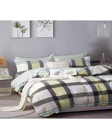 Bavlnená saténová posteľná bielizeň ALBS-01163B/2 140X200 Lasher