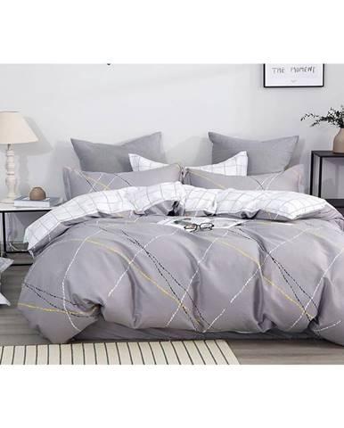 Bavlnená saténová posteľná bielizeň ALBS-01165B/2 140X200 Lasher