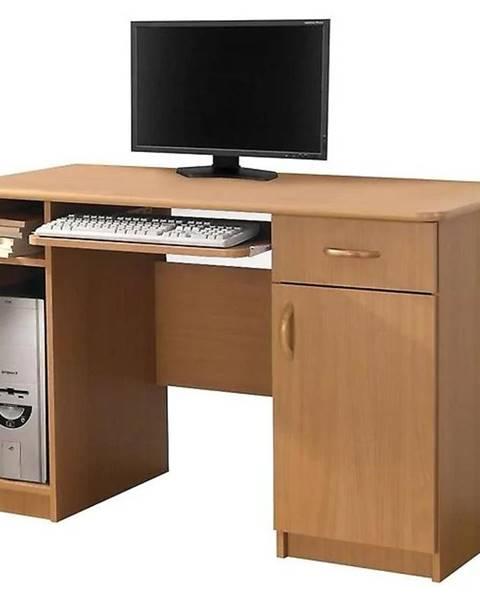MERKURY MARKET Písací stôl Max bez podstavca jelša
