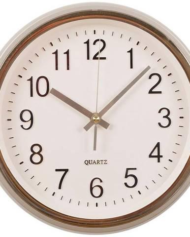 Nástenné hodiny klassika zlatá 25