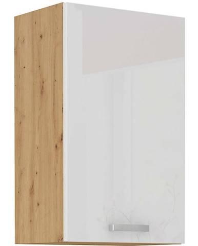 Skrinka do kuchyne ARTISAN biela lesklá 45G-72 1F