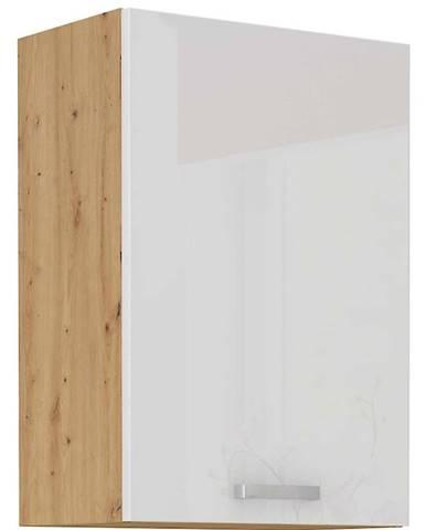 Skrinka do kuchyne ARTISAN biela lesklá 50G-72 1F