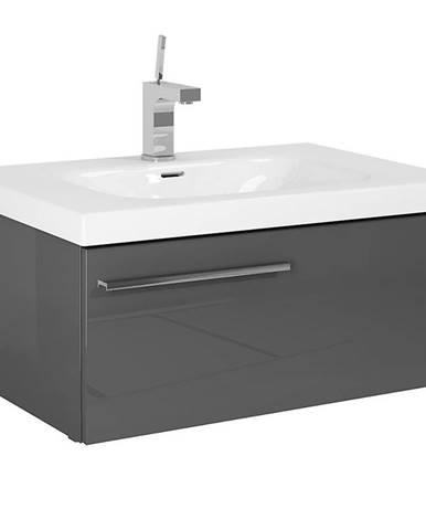 Kúpeľňová skrinka 70 1S anthracite
