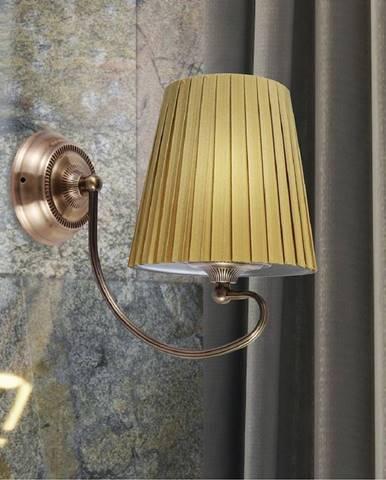 Mozart Svietniková lampa 1x60w E27 Patyna Meď
