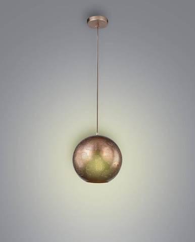 Sfinks Závesné svietidlo 25 Kula W 1x60w E27 Azúrovo svetlo hnedý