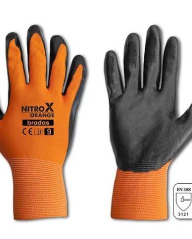 Rukavice nitrox orange rozmer 8 RWNO8