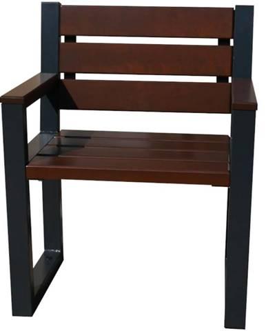 Moderná stolička s operadlom