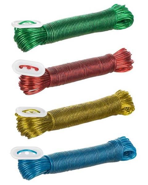 MERKURY MARKET Šnúra na vešanie PVC 10M s oceľovým lankom